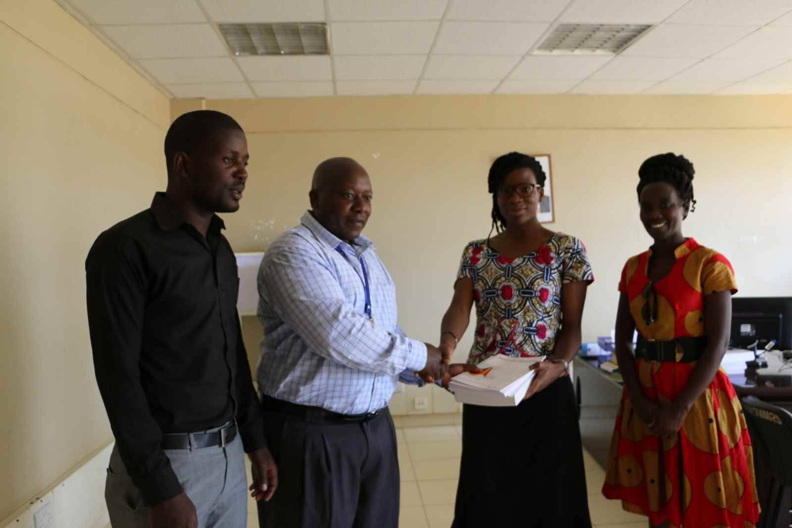 Book Donation to Kibabii University Libraryn