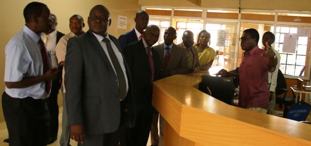 The University Council Chairman Visit