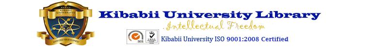 Kibabii University Library