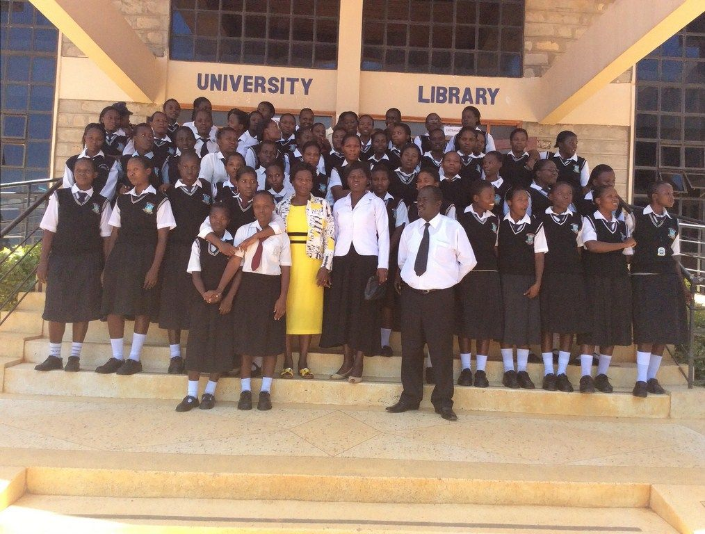 St. Pauls Sang'alo Secondary School Visit
