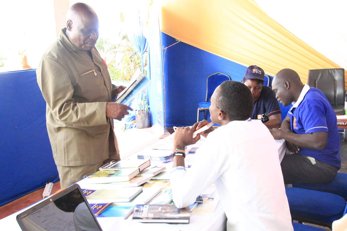 Kibabii University Library Department Represented during the Bungoma A.S.K Satellite Show 2017