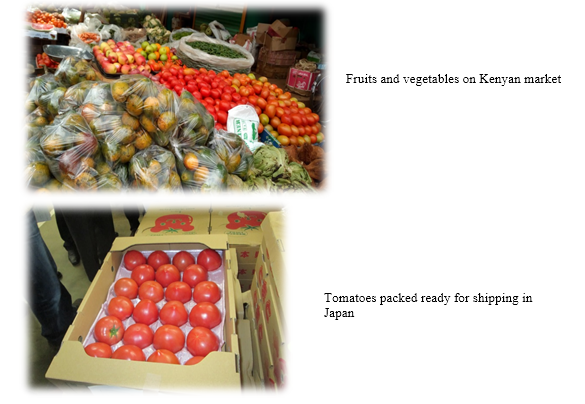 The Enemy within Interceptions of Fruits and Vegetables from Kenya for Export Market