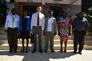 Malory International Limited visit to the University Library4