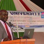 Kibabii University 4th Annual Information Professionals Workshopf12
