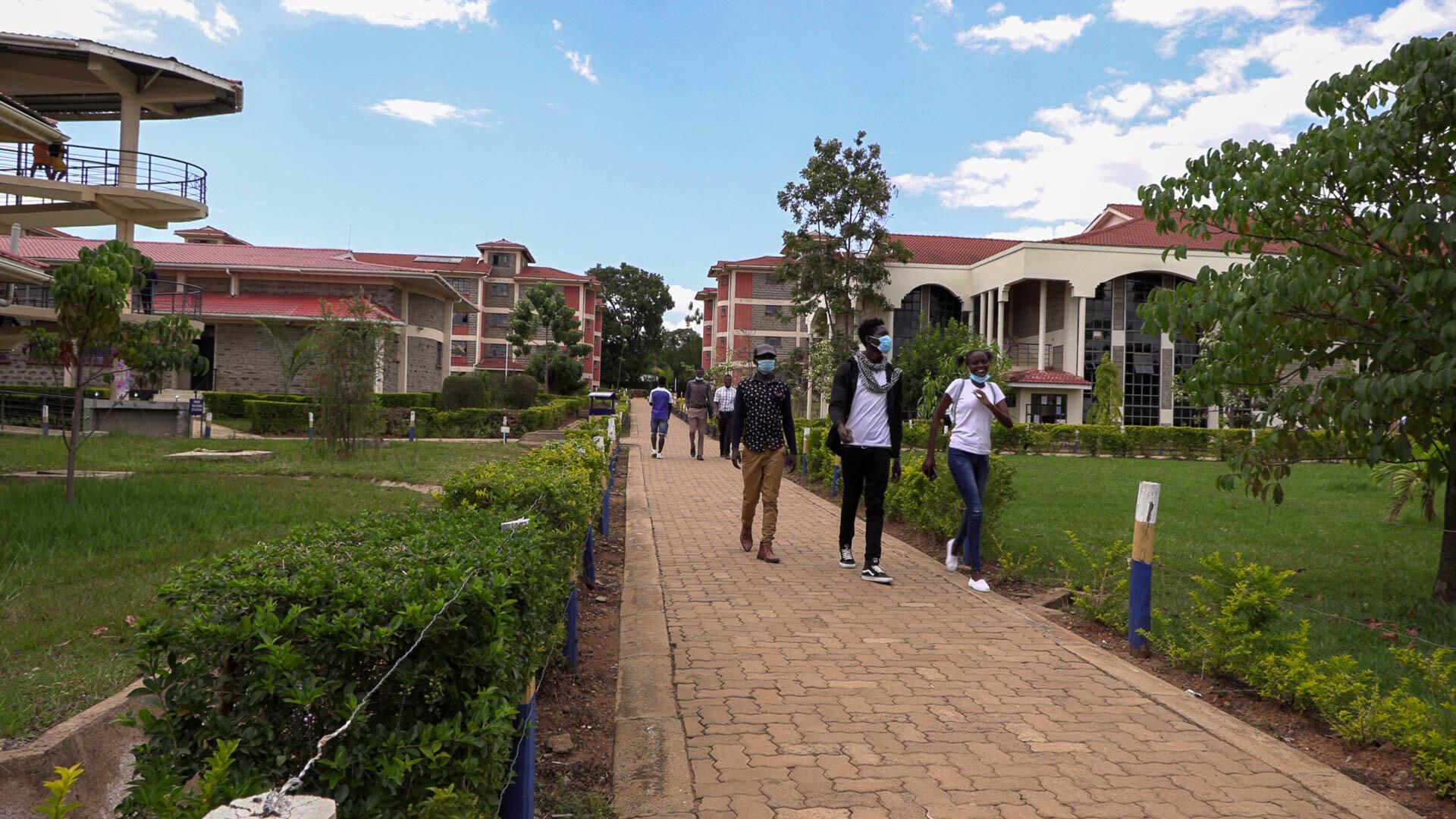 KIBU-Student-on-compound